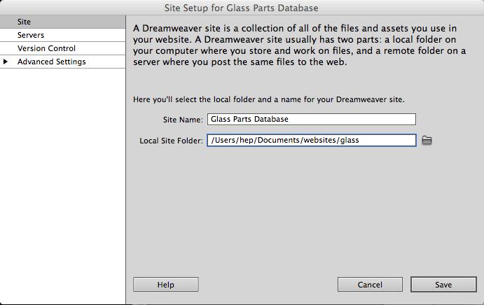 Setup Apache and Dreamweaver on a Mac